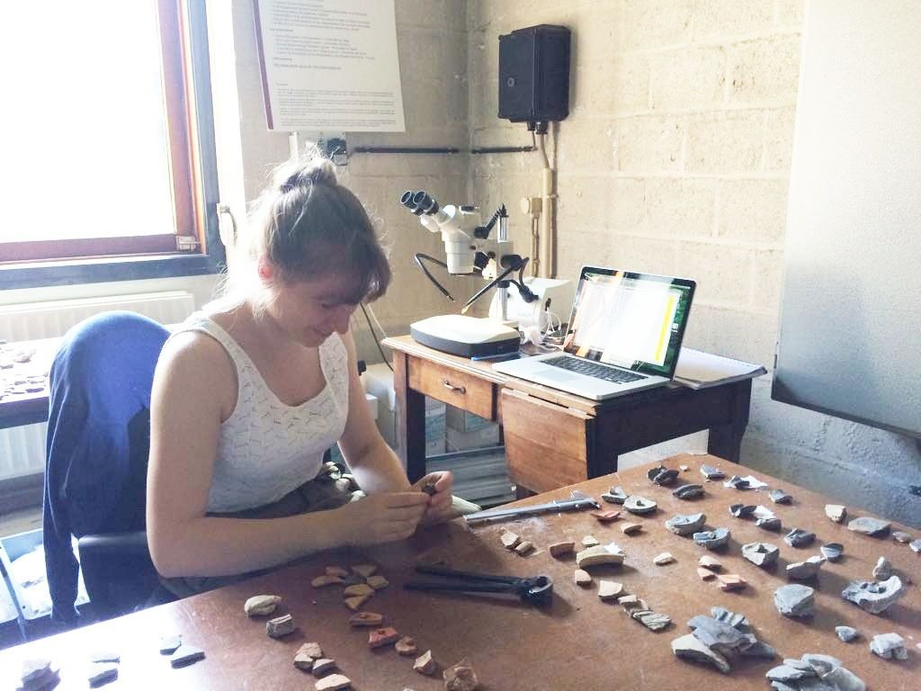 Sophie Vullings, pottery research